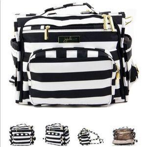 Jujube B.F.F. Diaper Bag First Lady Black & White